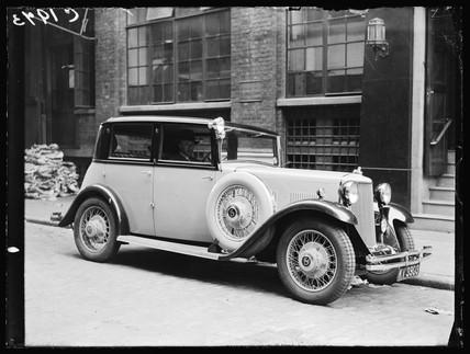 Armstrong-Siddeley saloon car, 1935