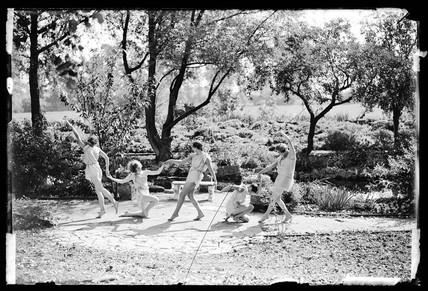 Classical dancers, 1933.