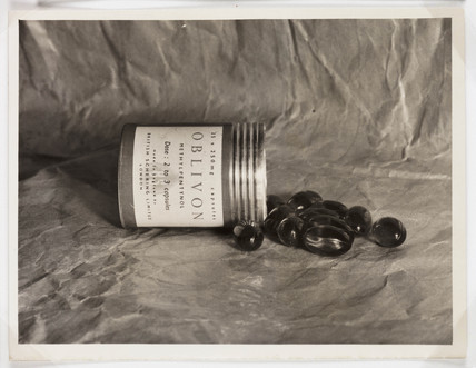 Canister of pills, 1950.