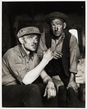 'Smallest Coal Mine in Country, Nr Edenfield', 1956.