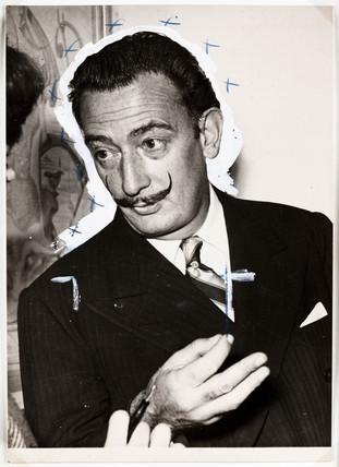 Salvador Dali in London, 2 December, 1951.
