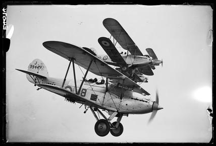 Hawker Hart aeroplanes, 1935.