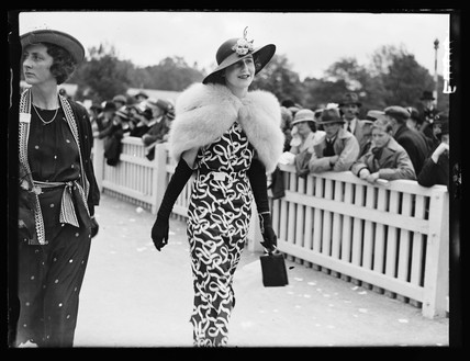 Woman at Royal Ascot, 1935.