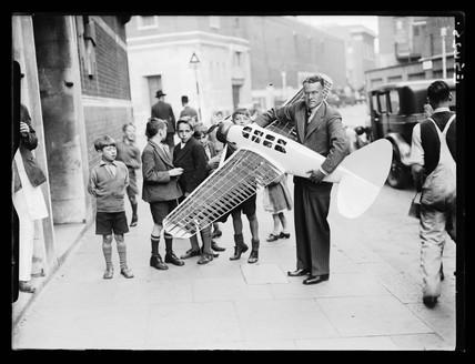 Model aeroplane, 1935.
