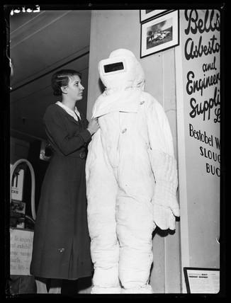 Asbestos suit, 1936.