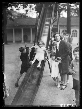 Children's playground, 1936.