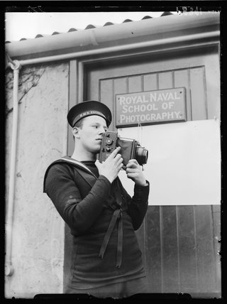 Royal Navy photographer, 1938.