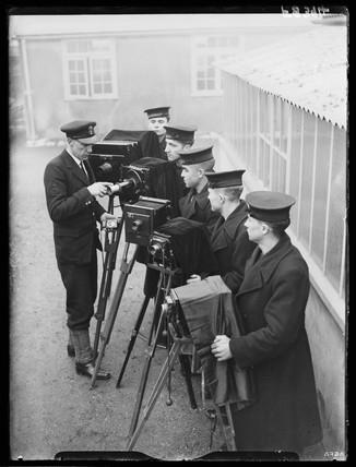 Royal Navy photographers, 1938.