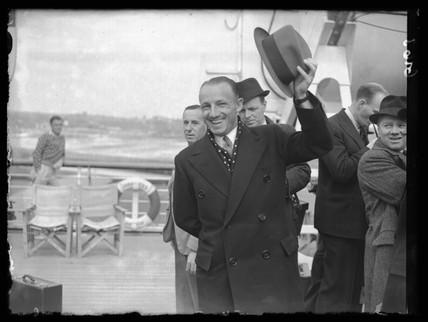 Don Bradman, Australian cricketer, 1938.