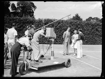 Television outside broadcast, 13 July 1938.