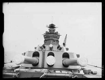 HMS 'Rodney', 1939.