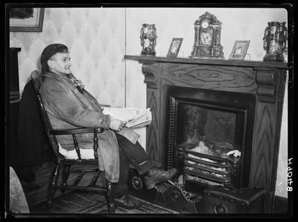 Welsh miner, 1940.