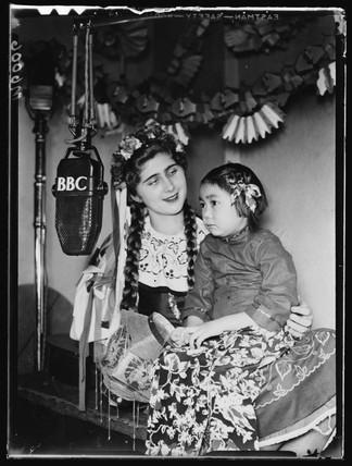 BBC radio broadcast, 1943.