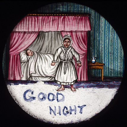 'Good Night', mid 19th century.