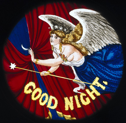 'Good night' angel
