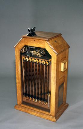 Edison's kinetoscope, 1894.