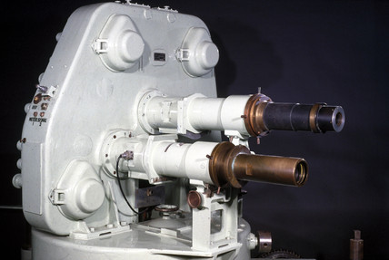 Atomic weapons research camera, late 20th century.