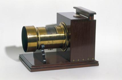 Daguerreotype portrait camera, c 1860.