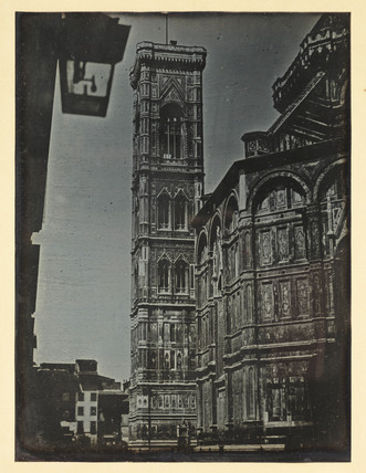 'Florence, The Campanile and portion of the South side of the Cathedral', 1841.