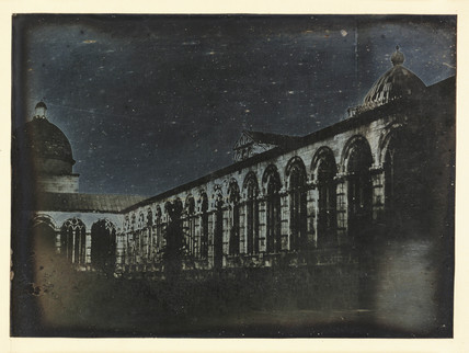 'Pisa, The Interior of the Campo Santo from the North West angle', Italy, 1841.