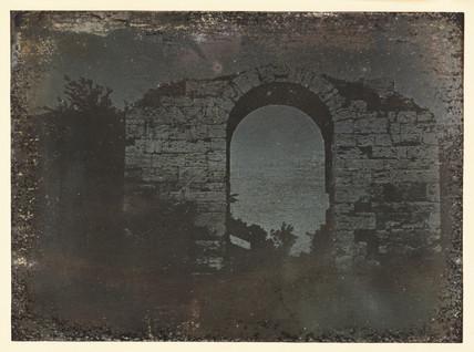 'Paestum, Gate...', 1841.