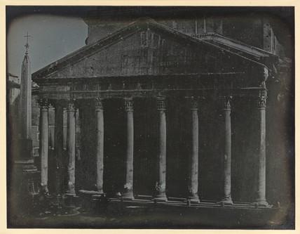 'Rome, The Northern Portico...', 1841.