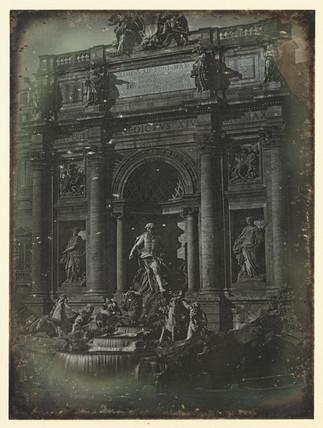 'Rome, Fontana di Trevi or L'Aqua Vergine', c 1841.