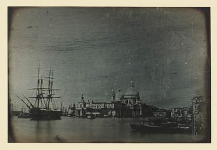 'Venice, Dogana del Mare, and Church of San Maria della Salute', 1841.