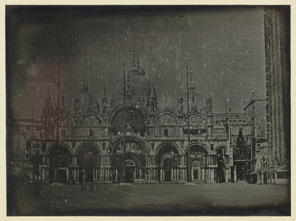 'Venice, The Basilica of S. Marco' 1841.