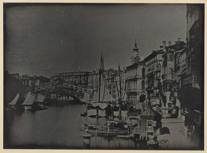 'Venice, Bridge of the Rialto and Rive de Carboni...' 1841.