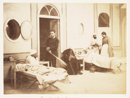 'Lady Strangford's Hospital...', Cairo, December 1882.