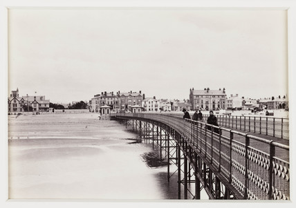 'Rhyl, View From The Pier', c 1880.
