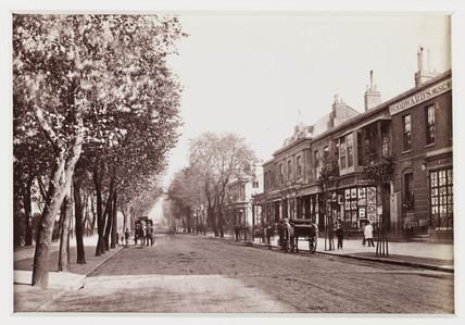 'Cheltenham, The Promenade Drive, Looking Down', c 1880.