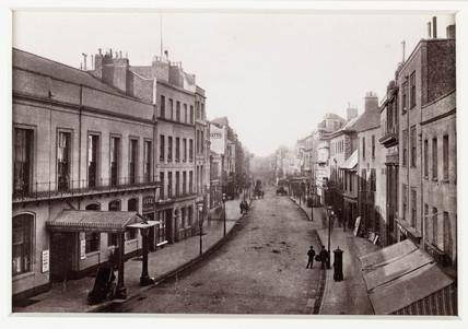 'Cheltenham High Street', c 1880.