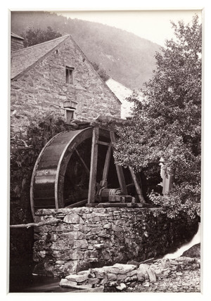 'Trefriw, the Old Water Mill', c 1880.