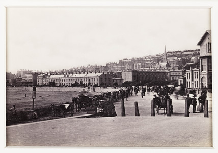 'Weston-Super-Mare, from the Esplanade', c 1880.