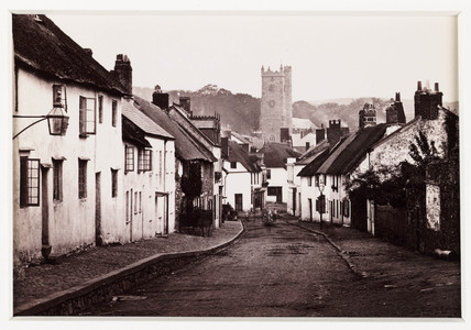 'Moretonhampstead, From Court Street', c 1880.