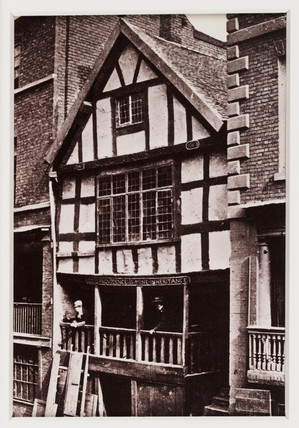 'Chester, God's Providence House', c 1880.