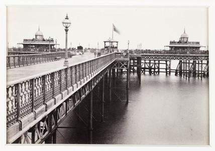 'Llandudno, View on the Pier', c 1880.