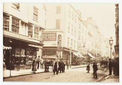 'Exeter, Father Peter, Corner of High Street', c 1880.