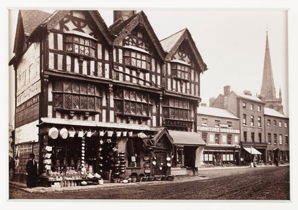 'Hereford, Old House in High Town', c 1880.