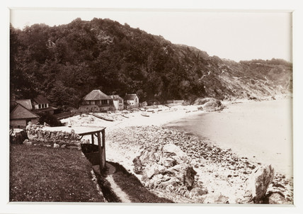 'Babbacombe, From the Beach', c 1880.