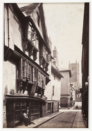 'Dartmouth, Fos Street, Old House', c 1880.
