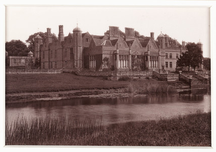 'Charlecote, from the River', c 1880.