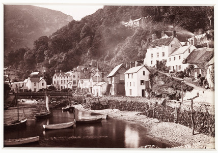 'Lynmouth, From the Pier', c 1880.