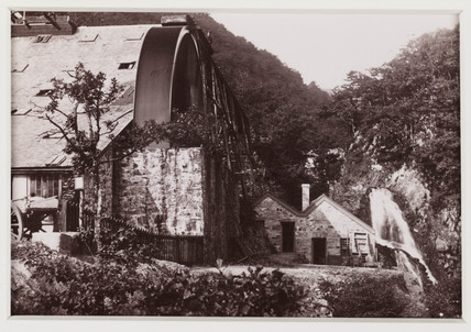 'Dolgelley. Rhaidr Mawddach and Gold Mine', c 1880.