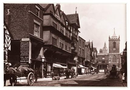 'Chester, Bridge Street', c 1880.