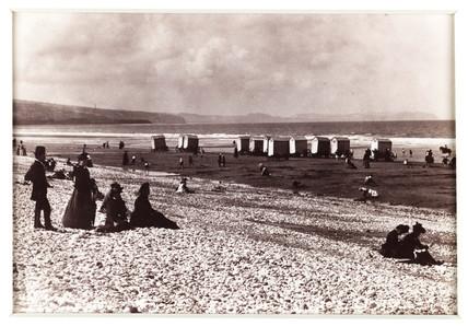 'Pensarn Beach', c 1880.
