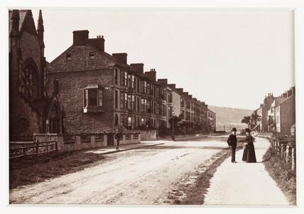'Pensarn, The Street', c 1880.