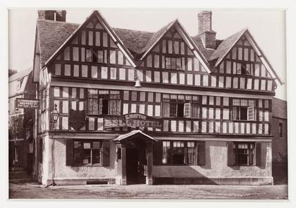 'Tewkesbury, Bell Hotel', c 1880.